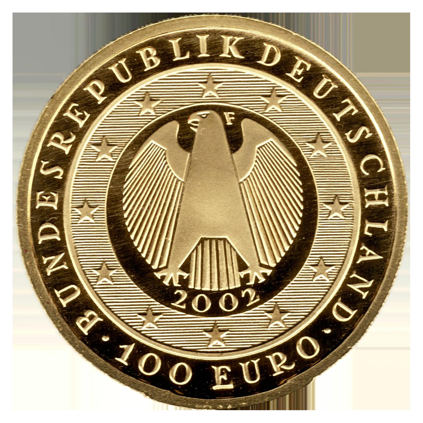 100EUR GoldmГјnze