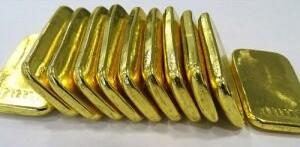 11 Goldbarren