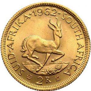 1962 Rand Südafrika Münze