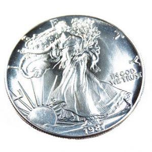 1987 Münze Liberty Silber 1Unze