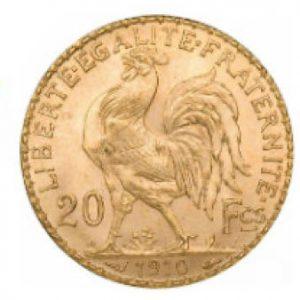 20 Franc, Frankreich Münze
