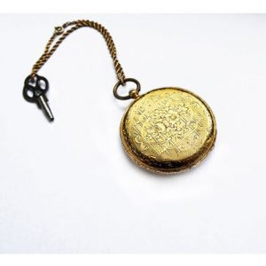 Alte Taschenuhr Gold