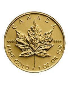 Dollar Maple Leaf Canada Goldmünze 1OZ