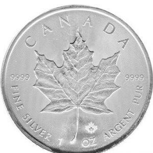 Feinsilber Münze Canada 1Oz