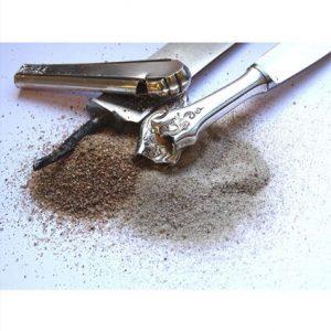 gefüllte Messer Silberbesteck