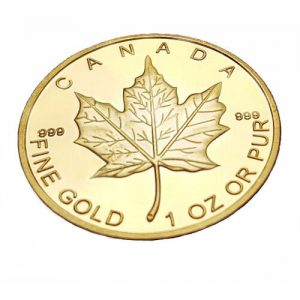 Goldmünze Canada 1 Oz Fine Gold