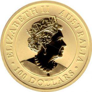 Goldmünze Elisabeth II Australia 100 Dollars