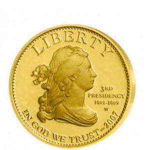 Goldmünze Liberty 2007