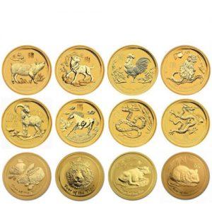 Lunar Serie Münzen