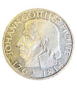 Münze Johann Gottlieb Fichte