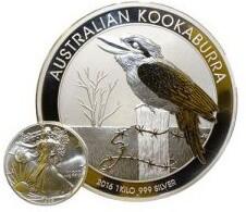 Münze Kookaburra Silber