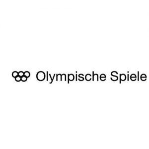 Olympische Spiele Text + Logo