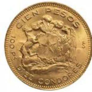 Pesos Chile Münze