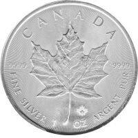 1 Oz Silber Maple Leaf