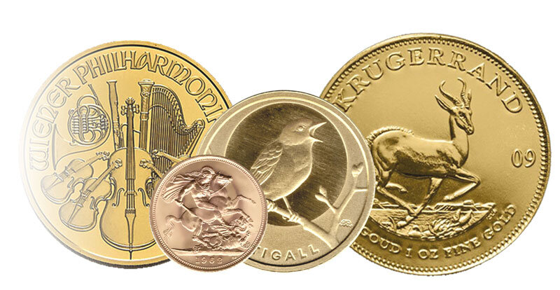 Goldmünzen Medaillenmünzen
