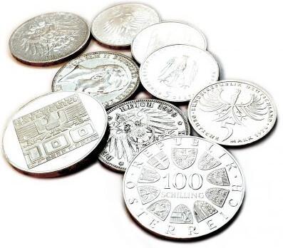Silbermünzen Schilling